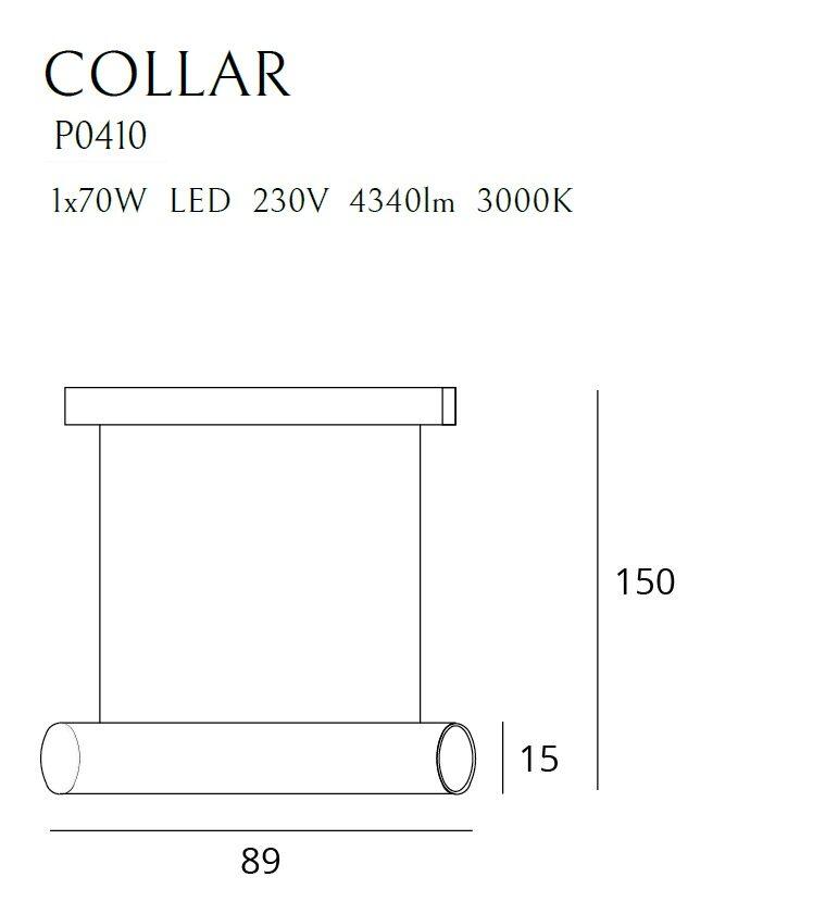 Pakabinamas šviestuvas COLLAR-P0410