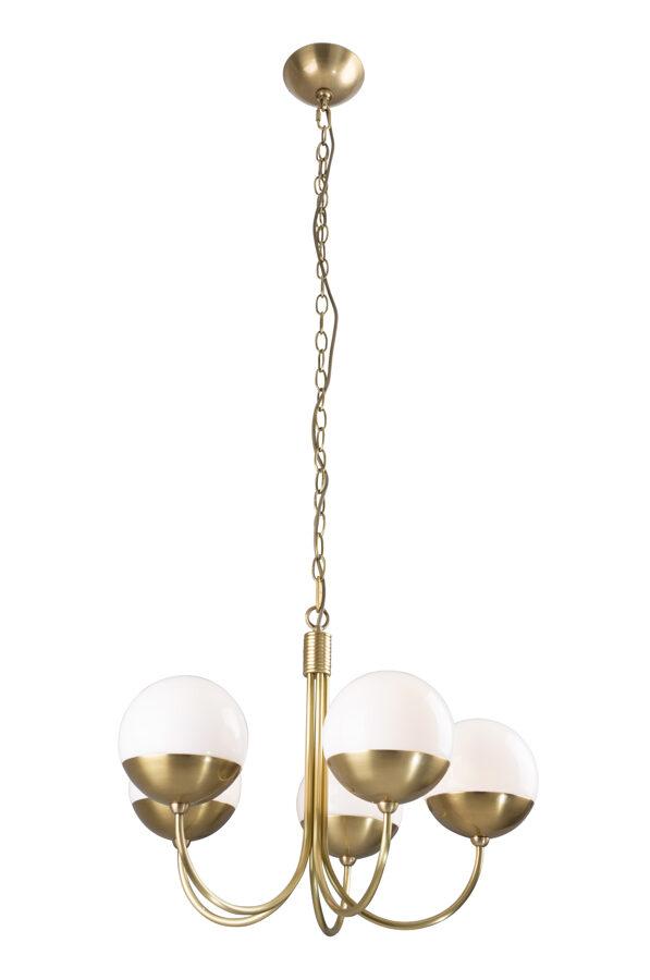 Pakabinamas šviestuvas DALLAS 5 (auksas)