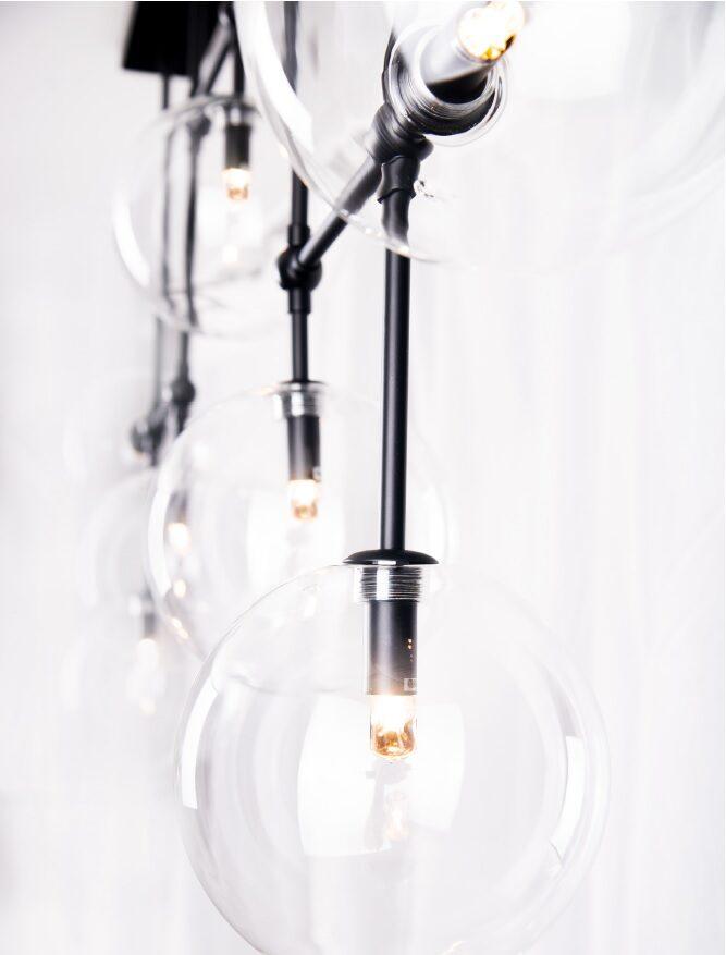 Pakabinamas šviestuvas LOLLIPOP (Juodas)