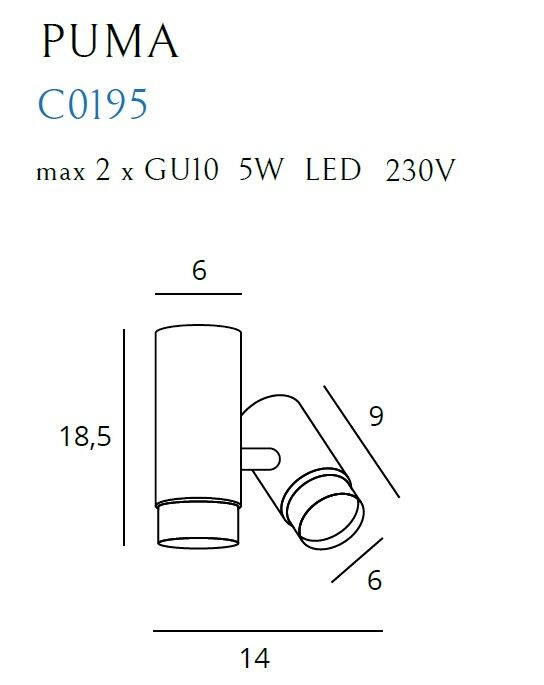 Kryptinis 6viestuvas PUMA C0195