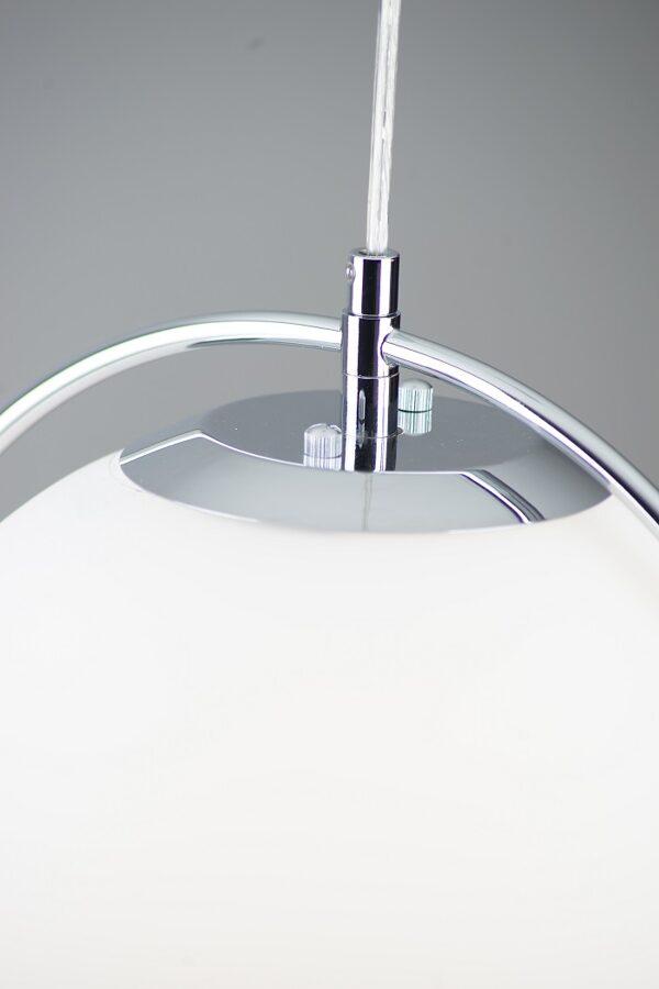 Pakabinamas šviestuvas SATURN (sidabras)