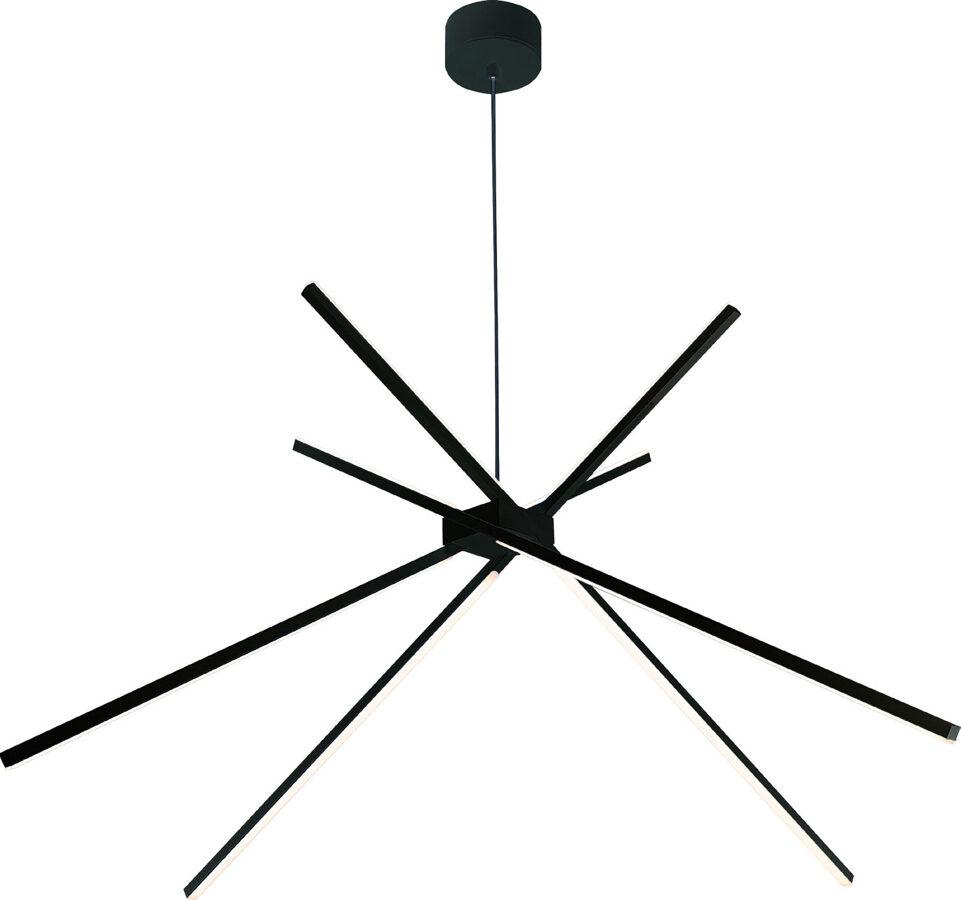 Pakabinamas šviestuvas SPIDER (juodas)