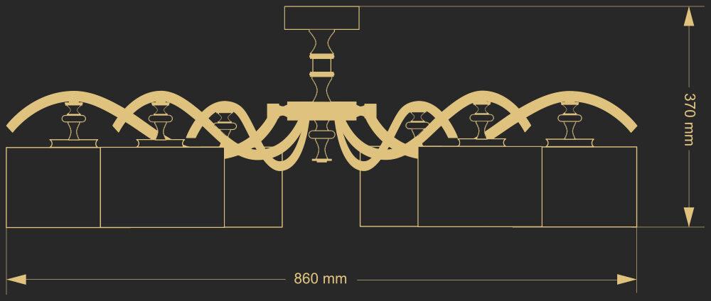 Lubinis šviestuvas AVERNO 1